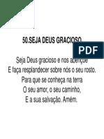 50. Seja Deus Gracioso