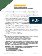 Hoja de Trabajo 13 Problemas de Ecuaciones Exponenciales y Logaritmicas 1