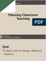 09 NS Planning Classroom Teaching
