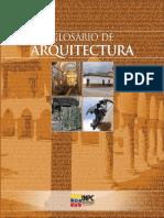 Glosario Arquitectura
