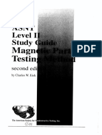 ASNT LEVEL 2 Study Guide Magnetic Particle Inspection