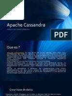 Cassandra creacion base de datos