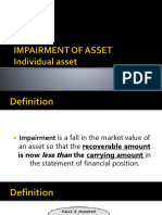 Impairment of Asset Acctg 211