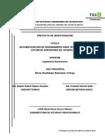 Automatización de Invernadero Para Tecnológico de Estudios Superiores de Ixtapaluca.