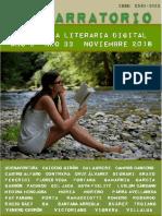 El Narratorio Antologia Literaria Digital Nro 33 Noviembre 2018