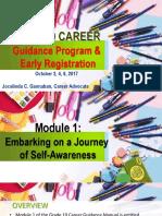 career guidance module