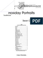 Holiday Portraits Cb PDF Full Score