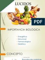 GLUCIDOS carbohidratos UNAC