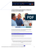 Comprometido Puerto Morelos a Trabajar de La Mano Con El Gobernador – Palco Noticias
