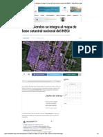 Puerto Morelos se integra al mapa de base catastral nacional del INEGI - Radio Fórmula QR
