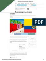 Puerto Morelos se promociona en Ecuador - Radio Fórmula QR