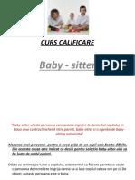 Curs de Baby-sitter