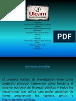 SISTEMA NACIONAL DE FINANZAS PÚBLICAS (SINFIP)