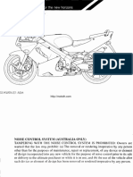 Honda NSR150SP Owner Manual English
