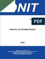 Manual de Pavimentação - DNIT - 2009