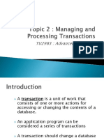 Topic2 Transaction Processing Part 1