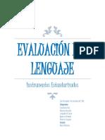 Importancia de la evaluación del lenguaje