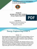 Hydro Electric Plants