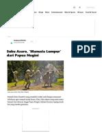 Suku Asaro, 'Manusia Lumpur' Dari Papua Nugini - Kumparan.com