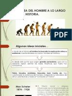 Presentación Historia Del Hombre - Mayo 29