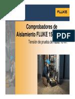 Megómetros digitales Fluke 1555 y 1550C
