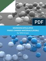 Microencapsulated PCM
