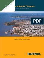 Evaluación de Impacto Ambiental Upm Fray Bentos