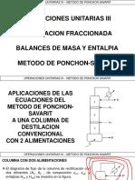 6.8 - Destilacion Continua - Ponchon Savarit 2da Parte