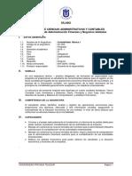 AC-303 - Contabilidad Básica I