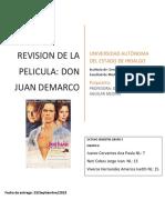 Analisis de Don Juan de Marco