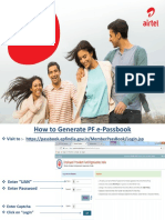 How to Download the PF E-passbook