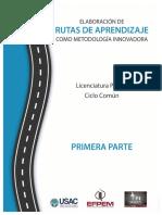 Guía Elaboración de Rutas de Aprendizaje como Met Inno 1