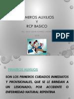 PRIMEROS AUXILIOS Y RCP BASICO.ppt