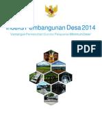 Buku Indeks Pembangunan Desa 2014