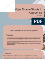 Two Major Types of Books in Accounting