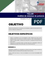 Curso ETAP SistemasPot 2019