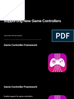 616 Supporting New Game Controllers