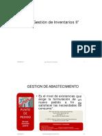 Clase 7 Gestion de Inventarios II