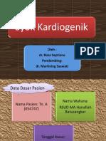 Slide Syok Kardiogenik