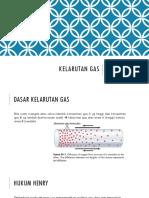 Kelarutan Gas