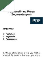 Pagsusulit (Segmentasyon)