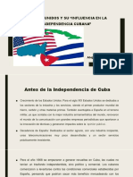 Unidad 7 EEUU y su influencia en la Independencia Cubana - Alejandra Marín