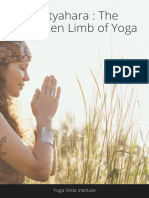 Limb of yoga