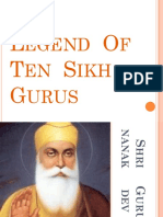 The  Legend  Of  Ten  Sikh  Gurus.pptx