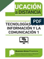 EDUCACIÓN a DISTANCIA Tecnología de La Información y La Comunicación 1