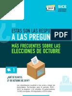Preguntas frecuentes elecciones colombia 2019
