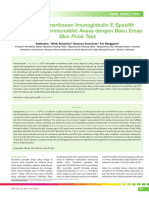 Evaluasi Pemeriksaan Imunoglobulin
