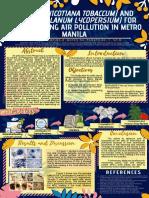 Biomonitoring Air Pollution in Metro Manila