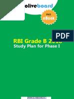 rbi grade b phase 1 study plan