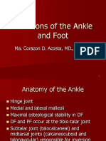 Affections of the Ankle and Foot